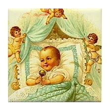 Vintage Victorian New Baby Shower Gift Cherubs Til