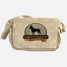 American Staffordshire Messenger Bag