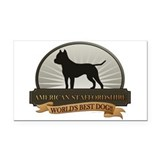 "American staffordshire terrier 3"" x 5"""