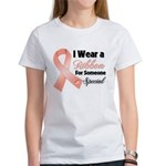 Special Uterine Cancer Women's T-Shirt