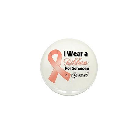 Special Uterine Cancer Mini Button