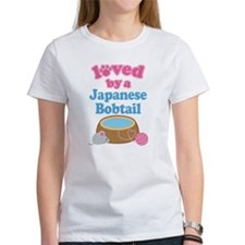Loved By A Japanese Bobtail Tee