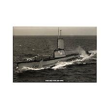 USS SEA CAT Rectangle Magnet