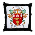 O'Horgan Coat of Arms Throw Pillow