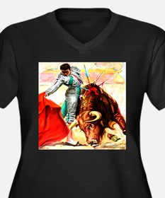 Vintage Mexico Bull Fighter Bullfight Poster Art W