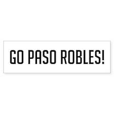 Go Paso Robles Bumper Bumper Sticker