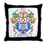 O'Hoolihan Coat of Arms Throw Pillow