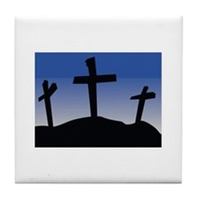 Cross Tile Coaster