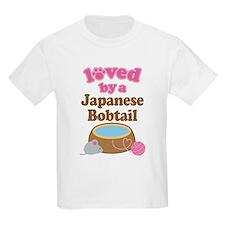 Loved By Japanese Bobtail Cat T-Shirt