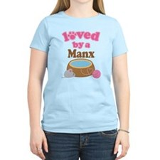 Loved By Manx Cat T-Shirt