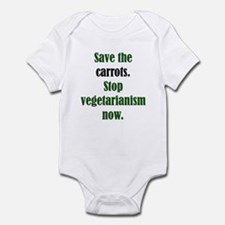 Save the Carrots Infant Creeper