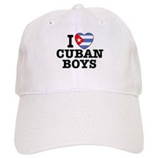 I Love Cuban Boys Baseball Cap