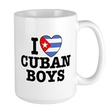 I Love Cuban Boys Mug
