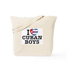 I Love Cuban Boys Tote Bag