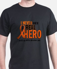 Cute I never knew real hero until my became one T-Shirt