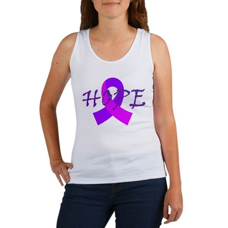 Hope, Cancer, Breast Cancer, Sarcoidosis, Purple.