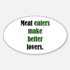 Meat Lovers Oval Decal