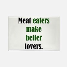 Meat Lovers Rectangle Magnet