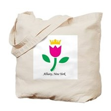 Albany Tulip Queen Tote Bag