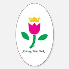 Albany Tulip Queen Oval Decal