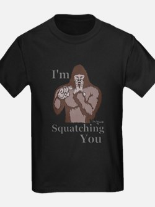 Im-Squatching-You-Brown T-Shirt
