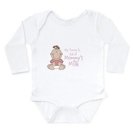 Tummy full of Mommys Milk Body Suit