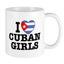I Love Cuban Girls Mug