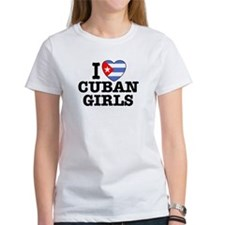 I Love Cuban Girls Tee