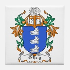 O'Hely Coat of Arms Tile Coaster