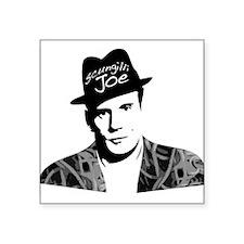 """Scungilli Joe Square Sticker 3"""" x 3"""""""
