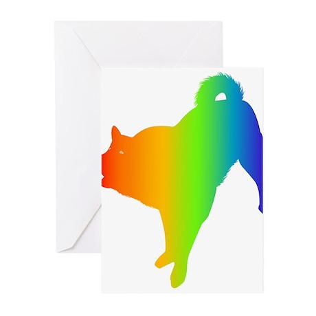 Karelian Bear Dog Greeting Cards (Pk of 10)