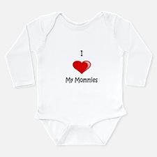 Unique Two mommies Long Sleeve Infant Bodysuit
