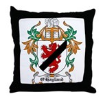 O'Hayland Coat of Arms Throw Pillow