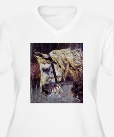 Giovanni Boldini Head Of A Horse T-Shirt