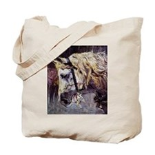 Giovanni Boldini Head Of A Horse Tote Bag