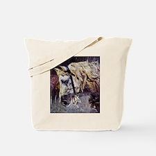 Giovanni Boldini Head Of A Horse Tote Bag