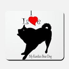 Karelian Bear Dog Mousepad