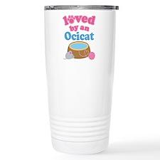 Loved By An Ocicat Travel Mug