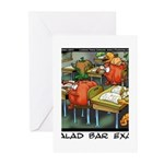 Salad Bar Exam Greeting Cards (Pk of 20)
