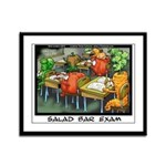 Salad Bar Exam Framed Panel Print