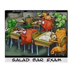 Salad Bar Exam Throw Blanket