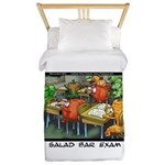 Salad Bar Exam Twin Duvet