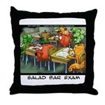 Salad Bar Exam Throw Pillow