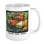 Salad Bar Exam Large Mug
