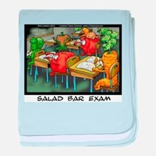 Salad Bar Exam baby blanket
