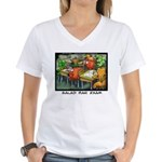 Salad Bar Exam Women's V-Neck T-Shirt