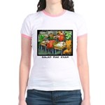 Salad Bar Exam Jr. Ringer T-Shirt