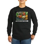 Salad Bar Exam Long Sleeve Dark T-Shirt