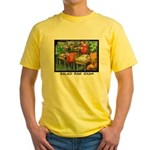 Salad Bar Exam Yellow T-Shirt
