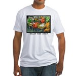 Salad Bar Exam Fitted T-Shirt